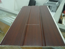 Two Groove 250 Wide 3kg 40%pvc Popular India PVC Ceiling Laminated PVC Panel
