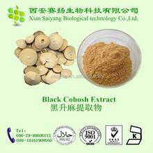 Black Cohosh Extract 2.5% Triterpene Glycosides HPLC