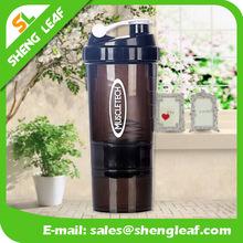 600ml Shake protein water bottle sport shaker bottle customized water bottle