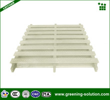 HDPE With Flat Steel Material Swimming Pool Gutter Overflow Grating from China Manufacturer