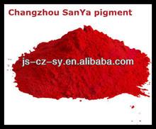 Pigmento rojo