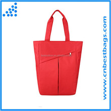 Polyester Reusable Market Grocery Bag ,Tote Made from Recycled Materials