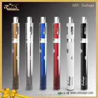 2015 the most popular electronic smoking device cigarette subego kits 1600mah temperature control sub ego big cloud subego