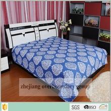 Kantha Cotton Handmade Quilts , flora printed kantha bed sheets 100% cotton bedding set