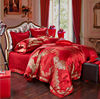 Luxury Jacquard 100% Cotton Bedding Set, Wedding Products, Home Textile