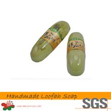 Top Quality Bath Soap Handmade Herbal Sage Loofah Soap