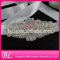 wholesale elegant wedding dress rhinestone appliques