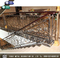 Iron railings metal railing outdoor stairs(Factory direct)