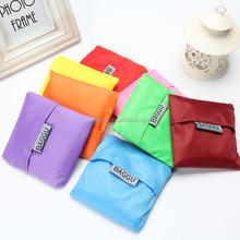 factory price reusable mesh material cheap nylon foldable shopping bag with custom logo