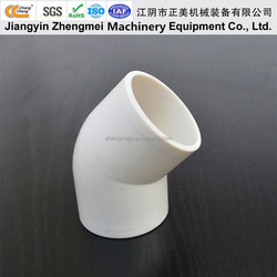 Chang Cheng 40mm Plastic Pipe Fittings 45 Degree Pvc Elbow