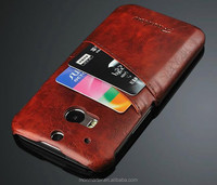 Luxury PU Leather Phone Cases for Girls and Boys, Mobile phone Cases Cover For HTC One M8 With Card Holder and Colors