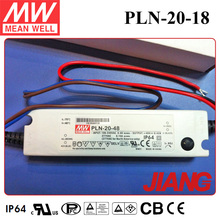 20W 18V 1.1A Lifud Driver LED Down Light Meanwell Class 2 Switch Power Supply PLN-20-18