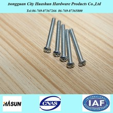 All Types of Blue Zinc Plated Philips Pan Head Concrete Screw