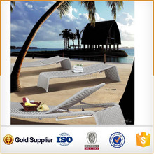 very cheap rattan outdoor/beach lounge bed