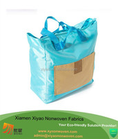 Soft Foldable Tote Women's Shopping Bag Shoulder Bag Lady Handbag Eco Bag
