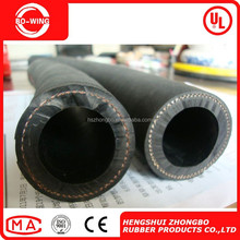 Durable Oil Resist Cloth Braided Rubber Hose