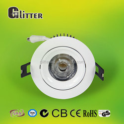 shenzhen supplier 30w cob led downlight dimmable , pf>0.95,ra80,CB/GS/SAA driver, 5 years warranty