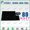 solar charger 80W solar mobile phone charger for outdoors