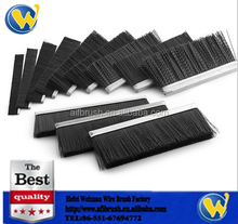 Metal Channel Strip Brush Channel Sizes for cleaning
