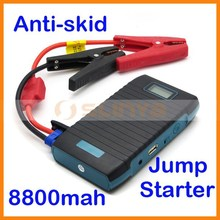 8800mah USB Output Power Bank with LCD Screen Show Power Status Car Engine Emergency Start Auto Jump Starter