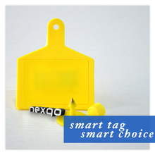 Low Cost LF/UHF Goat Ear Tag With Rfid ID And QR Code