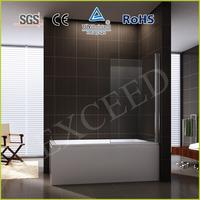 Pivot simple bathtub shower door/screen EX-201-1