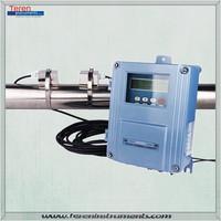 Lowest cost flow measuring instruments wall-mount ultrasonic liquid flow sensor