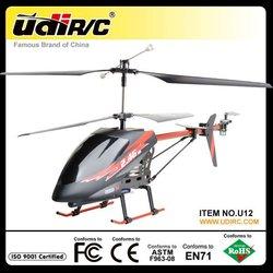 Udirc 2.4G 3.5ch metal rc big helicopter with gyro toy U12