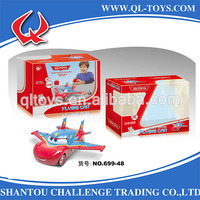 4CH remote control toy plane with 4 lights