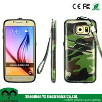 hot product 2015 camouflage case for samsung galaxy S6 mobile phone