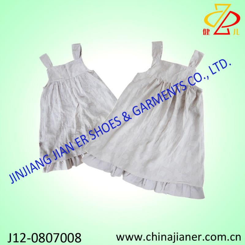 2014 hot sale cotton fabric wholesale baby dresses for for Wholesale baby fabric