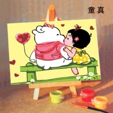 10*15cm home decoration oil painting yiwu china