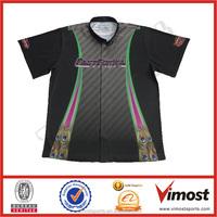 2015 custom button down racing shirts/wear