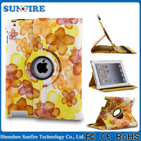 New Arrival cute tablet cover case, for ipad air case rotating