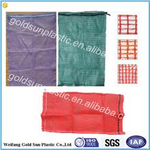 New PP tubular mesh bag,leno mesh bag,raschel mesh bag for packing