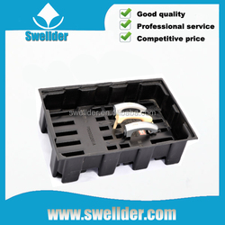 OEM black blister packaging tray Auto Parts thick plastic tray