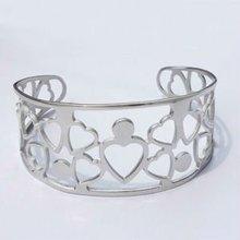 B30023 steel heart bracelet jewelry