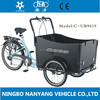 Bakfiets 3 wheel pedal tricycle cargo bike