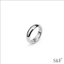 alemán de acero inoxidable joyería de dama de honor 39162 hombre anillo de acero