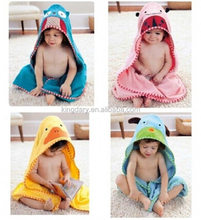 Bath Towel Children Cartoon Hooded Towel Without Ribbon 4 Color!