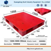 Wholesale 1T Rack HDPE Plastic Euro Pallet Dimensions