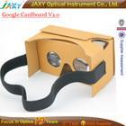 Google papelão V2.0 VR Kit de fone de ouvido Lens & Headstrap realidade Virtual