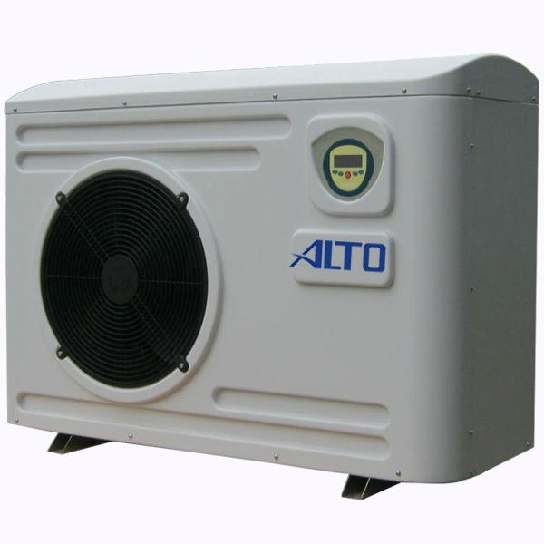 Contralto novo ar para água bomba de calor digital com controlador de pressão( 4.2kw-- 20kw, gabinete de plástico).
