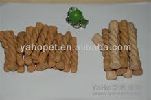 make from powder and no meat dental care bone of dental rope from Yaho Pet Food ,Guangdong ,China