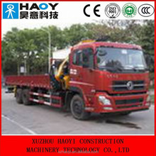 DongFeng6*4 middle-sized derrick cargo truck,crane truck,truck mounted crane for sale DFL5250