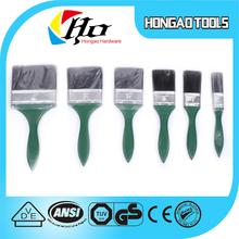 Seis tamanho madeira / plástico do punho da escova para paraguai