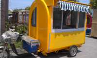 3 wheel car for sale CE&ISO9001electric fast food car/tricycle Vending Car Electric Cars with 3 Wheels Scooter YS-FV175C