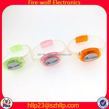 China Wholesale Rubber Band Bracelets Kit LED Wristband With Remote Control Manufacturer Rubber Band Bracelets Kit