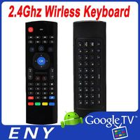 NEW 2.4Ghz Wireless Multiple functions mini Keyboard for android smart tv box/HTPC/PCTV/IPTV/LAPTOP