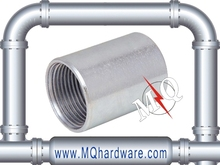 Electrical galvanized steel rigid couplings